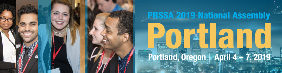 (Banner graphic of PRSSA 2019 National Assembly logo)